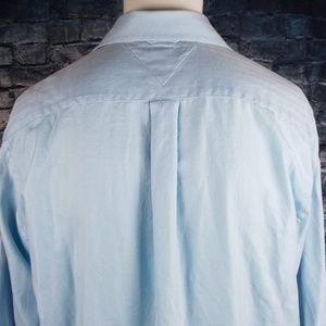 Tommy Hilfiger Shirts - Tommy Hilfiger Light Blue  Dress Shirt, Large
